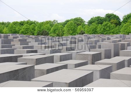 he Memorial to the Murdered Jews of Europe