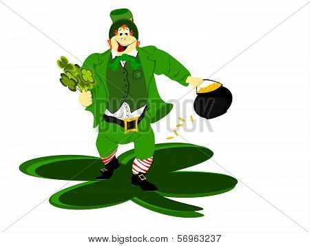 leprechaun large ground clover