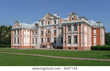 Kikiny Palaty (kikin's Chambers). St. Petersburg, Russia.