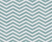 Pale Teal and White Zigzag Textured Fabric Background that is seamless and repeats poster