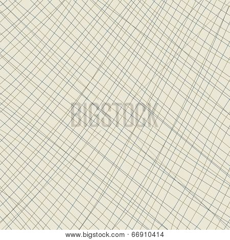 Crisscross lines pattern background illustration