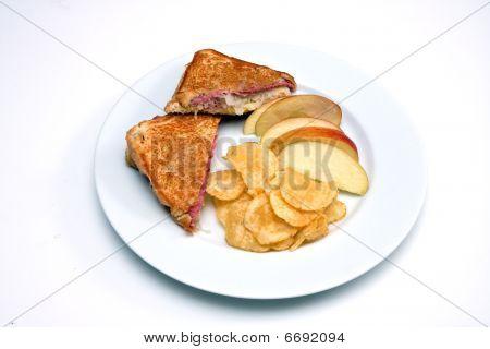 Rueben Sandwich For Lunch