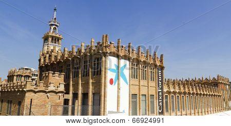 Caixaforum Museum, Barcelona, Spain.