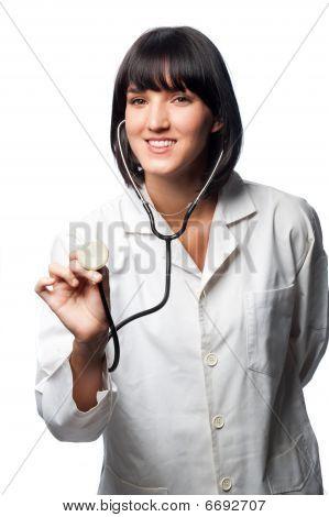 Caucasian Doctor