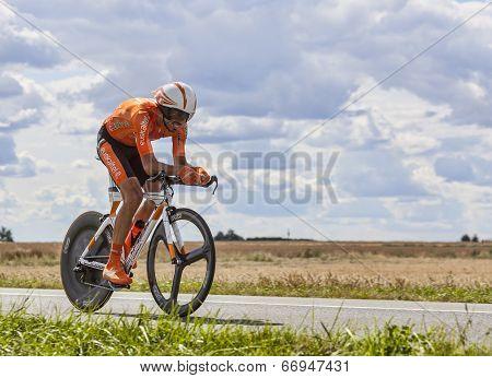 The Cyclist Egoi Martinez
