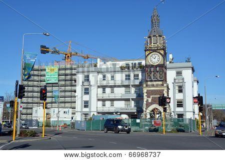 Christchurch Earthquake Rebuild - Diamond Jubilee Clock Tower.