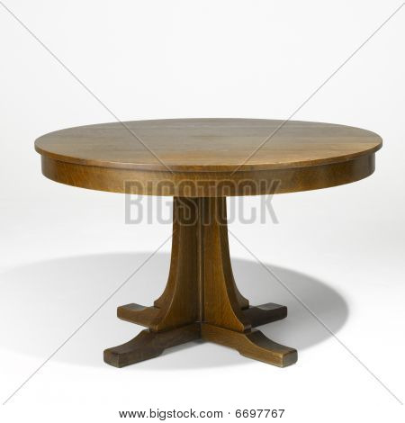 Mission Style  Table