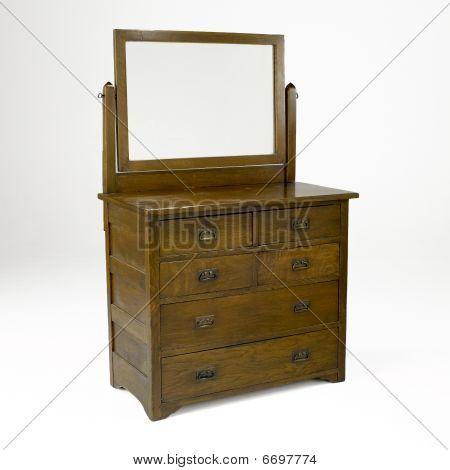 Mission Style Dresser