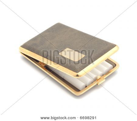 Open Cigarette Case.