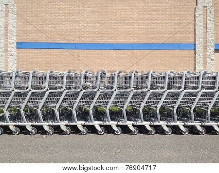 Shopping Cart Row