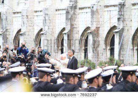 POPE BENEDICT XVI VISITS  PORTUGAL  11-14 MAY