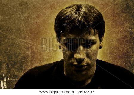 Dangerous Man Portrait