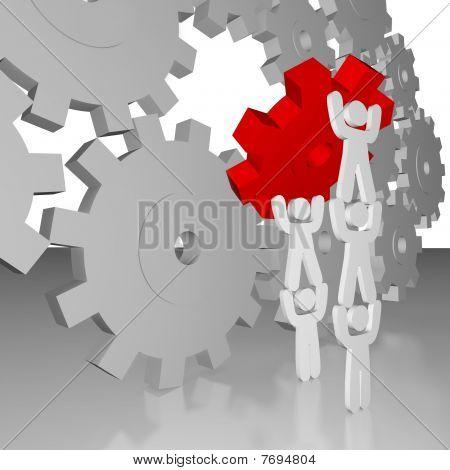 Completing The Job - Teamwork