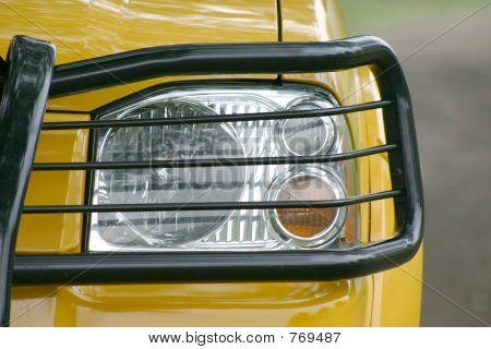 Framed Headlight
