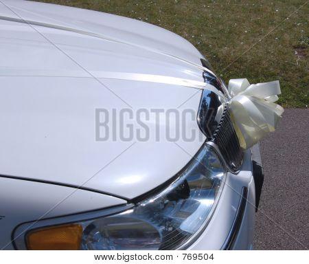 Front of Limousine Car