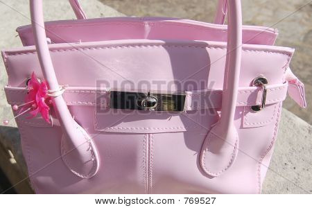 Female Pink Handbag