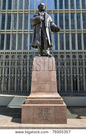 Cornelius Vanderbilt Monument, Grand Central, New York