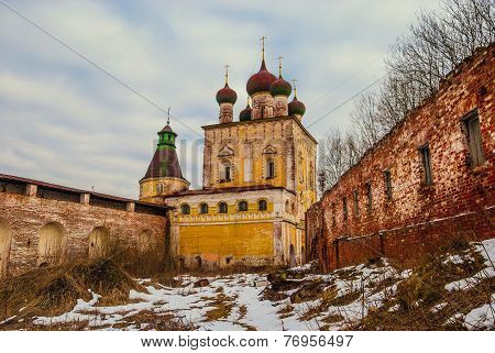 One of the oldest monasteries in Russia