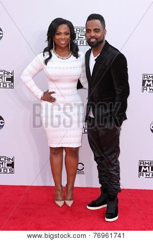 LOS ANGELES - NOV 23:  Kandi Burress, Todd Tucker at the 2014 American Music Awards - Arrivals at the Nokia Theater on November 23, 2014 in Los Angeles, CA