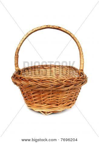 Brown Willow Basket