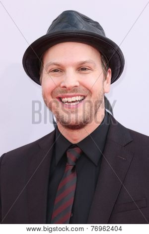 LOS ANGELES - NOV 23:  Gavin DeGraw at the 2014 American Music Awards - Arrivals at the Nokia Theater on November 23, 2014 in Los Angeles, CA