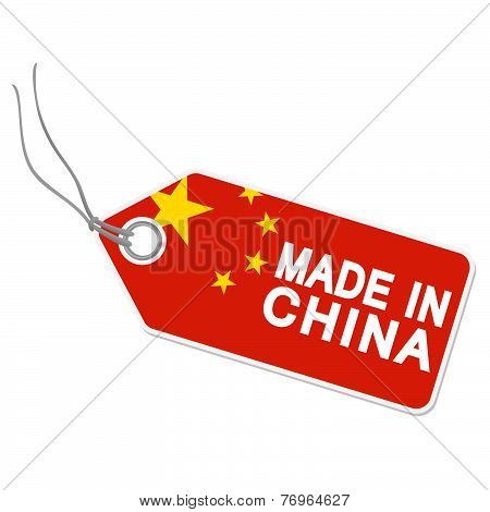Hangtag With Made In China