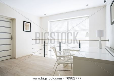 Home Office On Mezzanine Floor