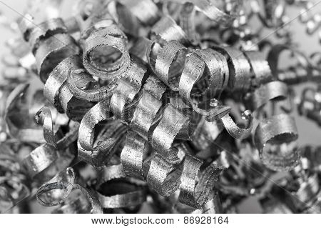 Pile Of Metal Shavings