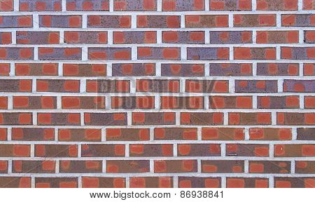 Red Brick Wall Textrue For Background