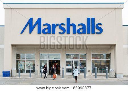 Marshalls Store Facade