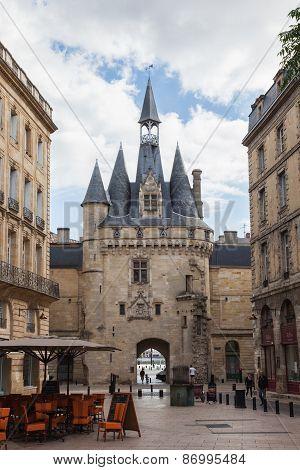 Gate Porte Cailhau In Bordeaux, France