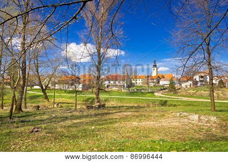 Town Of Lubreg Park View