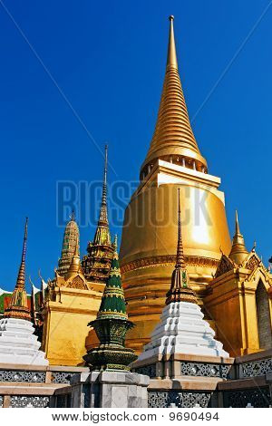 Golden pagoda at Royal Palace Bangkok #2