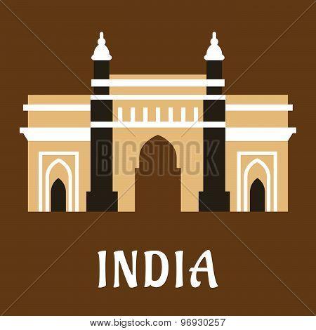 Indian landmark icon Charminar mosque