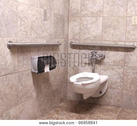 Wheelchair Handicapped Bathroom
