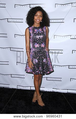 LOS ANGELES - JUL 23:  Yara Shahidi at the Michael Costello And Style PR Capsule Collection Launch Party  at the Private Location on July 23, 2015 in Los Angeles, CA