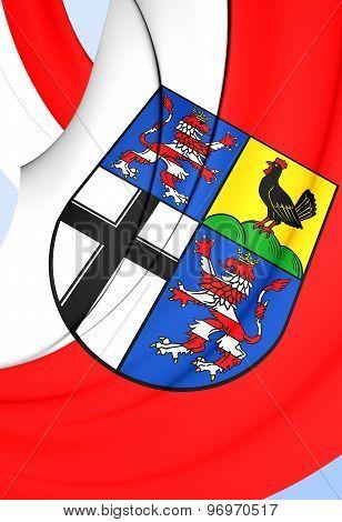 Flag Of Wartburgkreis, Germany.