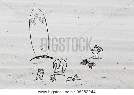 Beach Holiday Items