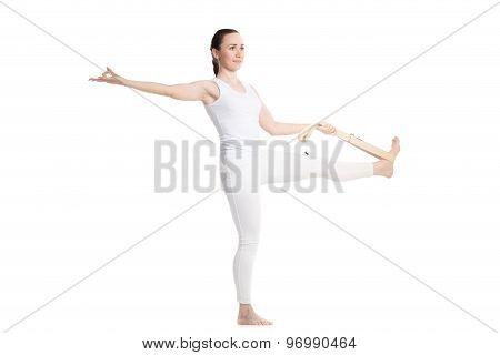 Yoga With Props, Utthita Hasta Padangusthasana