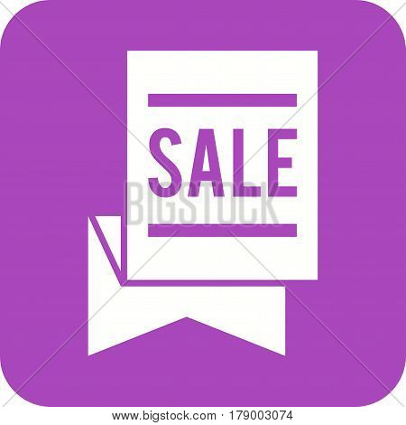 Sale, day, template icon vector image. Can also be used for thanksgiving. Suitable for mobile apps, web apps and print media.