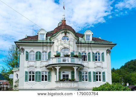 Villa Jagerhaus A Four Star Hotel Built In Xix Century, Bavaria, Germany