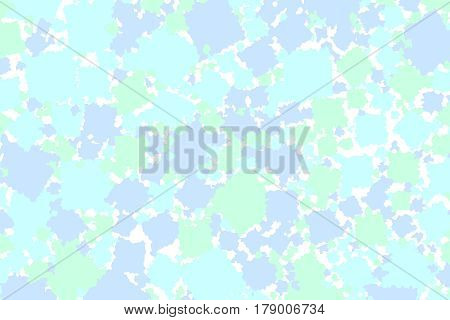 Abstract Background With Flat Boxes. Pattern For Help Concept.