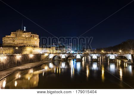 Some beautiful famous places in rome italy