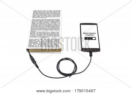 Optical Character Recognition Concept