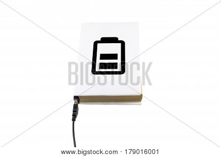 Charging A Book Connected To Usb