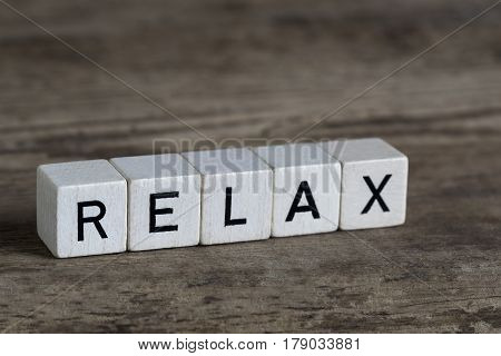 Relax, Written In Cubes