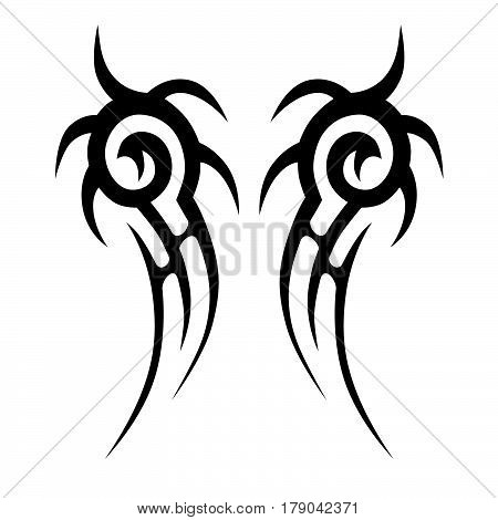 tattoo, tribal, design, swirl, sketch, vector, isolated, tribal chest, tattoo tribal, tattoo designs, tattoo tribal design, tattoo chest, tribal tattoo, tribal tattoo vector, tattoos sleeve, tribal stencil, tattoo isolated, tribal art, tribal flames, cool