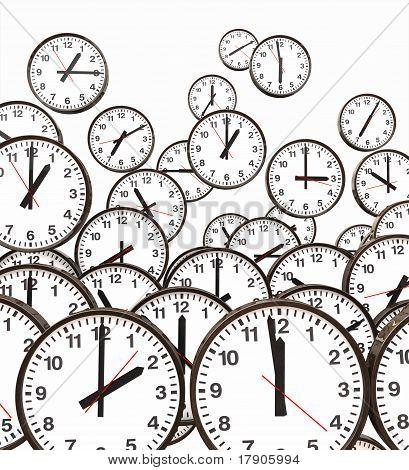 Clocks Floating