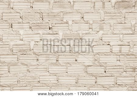 Black And White Brick Wall Texture Background / Have Flooring, Interior, Rock, Stone, Old Pattern Cl