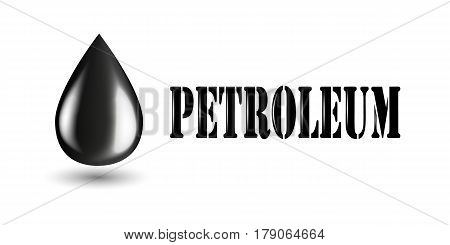 Petroleum industry horizontal banners set with oil products